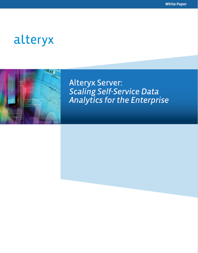 Alteryx Server cover image